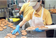 ドーナツ製造